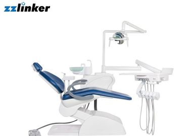 Personal Glass Spittoon Dental Chair With Light LED Sensor Noiseless Curing