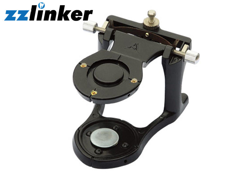 Clinical Dental Lab Equipment , Adjustable Metal Articulator Small Black Color